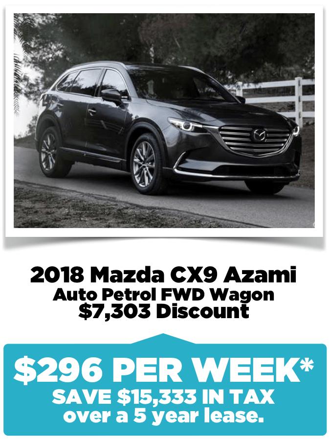 Novated Lease Mazda CX9